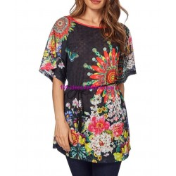 top tunic print summer 101 idées 1605Y