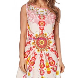 dress tunic print summer 101 idées 0217Y 2017 prom