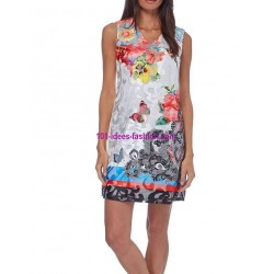dress tunic lace ethnic summer 101 idées 254BVRA