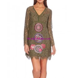 buy dress tunic lace summer 101 idées 915WVRA online