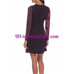dress tunic print mid season 101 idées 403VA paris french