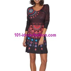 Dress tunic ethnic winter 101 idées 321IN
