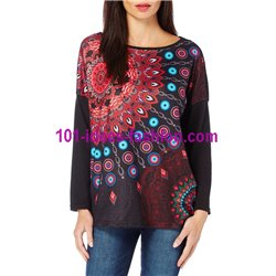 t-shirt top blusas inverno marca 101 idees 275 in lojas moda