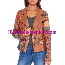 desigual jacke Wildleder optik perfecto 101 IDEES 338CAS günstig shop
