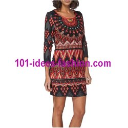dress tunic lace winter 101 idées 190W christmas clothes and new year