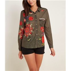 shirt ethnic 101 idées 3208Y womens clothes sale