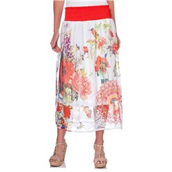 223d4ff7dd0 maxiskirt ethnic floral summer 101 idées 1514Y womens clothes sale