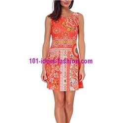 dress tunic ethnic print summer 101 idées 214Y