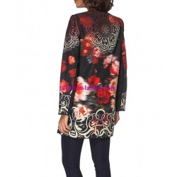 buy now coat label 101 IDEES 051CASL plus size clothes for women