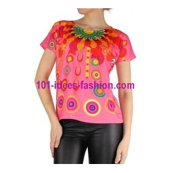 tshirt top summer brand 101 idees 905r