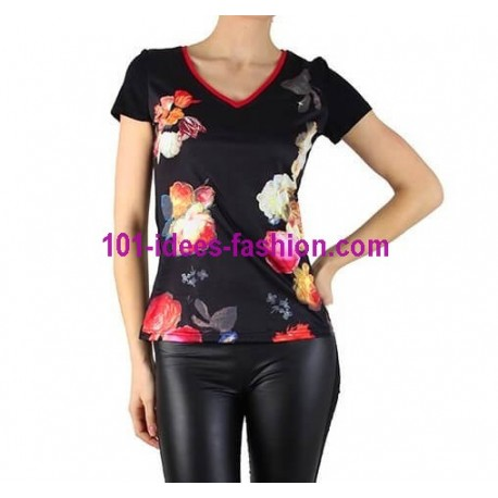 tshirt top summer brand 101 idees 8427 SALES online