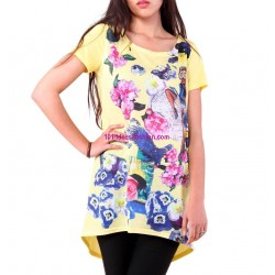 tshirt top summer brand 101 idées 8925 spanish style