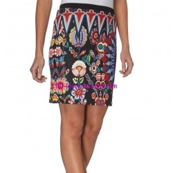 skirt print winter 101 idees 010W boutique clothing