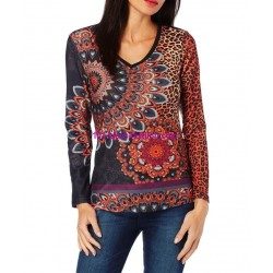 camiseta leopardo invierno 101 idées 242IN