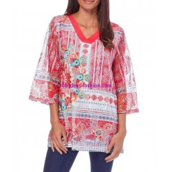 camiseta top 101 idees 327RE elegante fashion