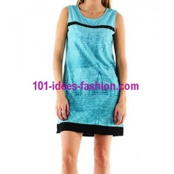 tunic dress summer brand 101 idées 043AZ french fashion