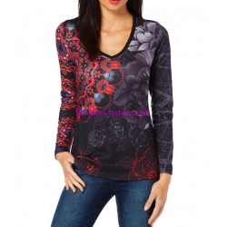 tshirt top inverno 101 idées 279IN oferta roupas