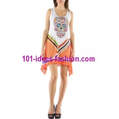 tunic dress summer brand rosa & rose 3467L boutique clothing