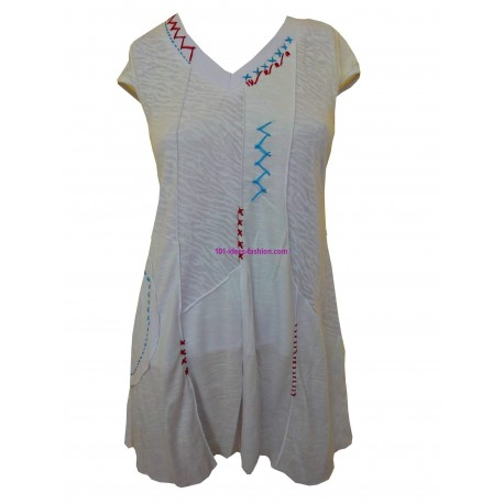 tunic dress summer brand frime 6018BR very cheap