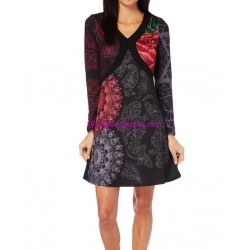 dress tunic print mid season 101 idées 413IN french fashion