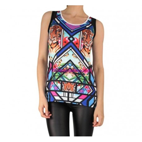 camiseta top verano marca 101 idees 929 marcas paris