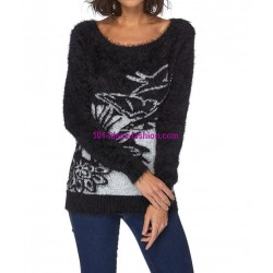 Sweater soft touch print 101 idées 8208W shop europe