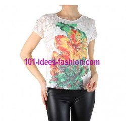 t shirt magliette top estive marca 101 idees 751 vendita italia