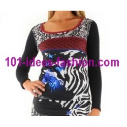 tops blusas camisetas invierno marca 101 idees 8386