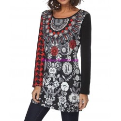 mini dress ethnic mandalas winter 101 idées 193W 2017 prom