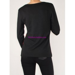 tshirt top inverno 101 idées 109IN oferta roupas