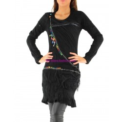 kleider tuniken winter marken dy design 13066P paris mode