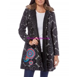 shop jackets coats winter brand 101 idees 8467P outlet
