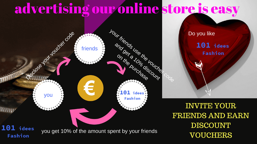 101 idees sponsor your friends and win VOUCHERS